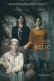 RELIC movie poster.CR: IFC Films